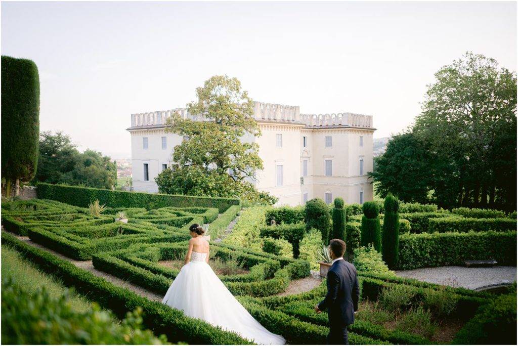 matrimonio in villa rizzardi